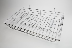 Grid Basket 24 x 15 x 4.5 Chrome
