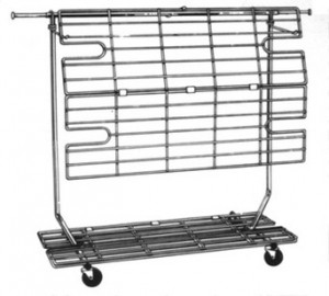 Add-On Screen for RCS-2 Rolling Rack