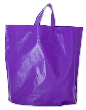 Bag 16 x 15 x 4 Purple