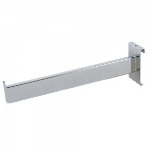 "Grid Faceout 12"" Rectangular Tubing Chrome"