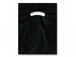 "Bag 9"" x 12"" Black"