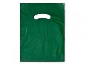 """Bag 9"""" x 12"""" Dark Green"""