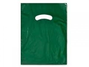 "Bag 15"" x 18"" x 4"" Dark Green"