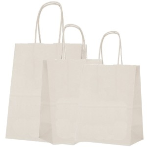 Shopping Bags White  250/Box Several Sizes Available