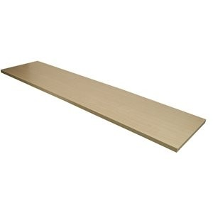 "Wood Shelf Maple Melamine 12"" x 48"""