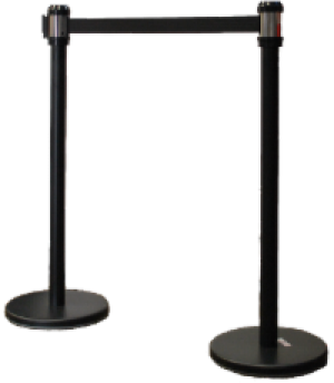 Crowd Control Set of Stanchions 1