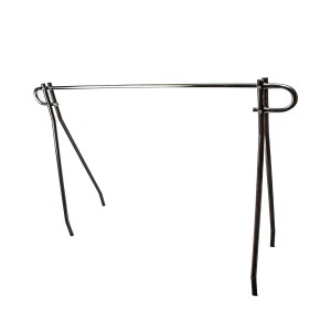 Single Bar Clothing Rack 63 W/Blk