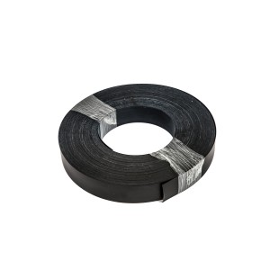 Roll Of Plastic Insert For Slatwall Slats Black