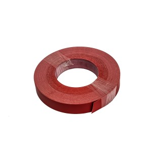 Roll Of Plastic Insert For Slatwall Slats red