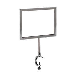 """Complete Metal Sign Holder 7""""W x 5 1/2""""H 21"""