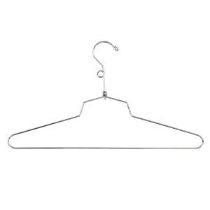 "Dress Hanger 18"" Chrome Metal"