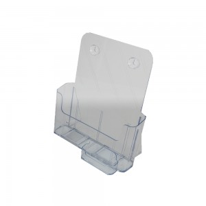 """Brochure Holder Counter Top 8.5"""" x 11"""" With Card Holder"""