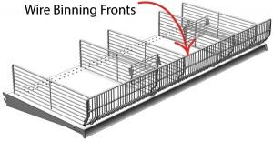 """Wire Fence Lozier 3"""" L x 36"""" W"""