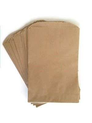 "Paper Shopping Bags 6"" x 9"" Natural 1000/Box"