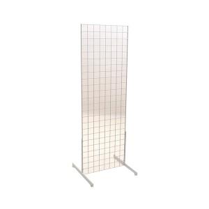 Gridwall Complete Free-Standing Floor Fixture. 2' x 6'   2 5