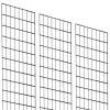 Grid 2' x 8' Black x 3