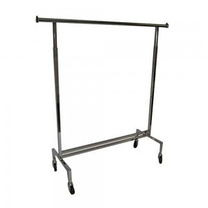 "Adjustable Single Bar Rack 48""-72"""