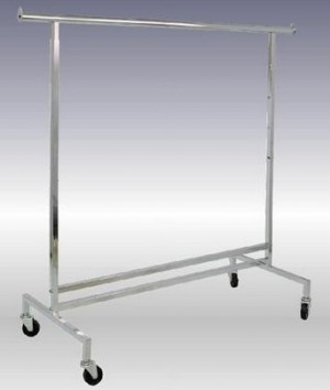 "Adjustable Single Bar Rack 48""-72"" 2"