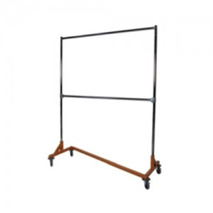 Orange Base Z Clothing Rack