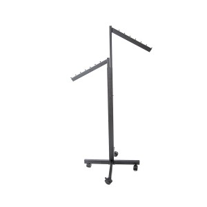 Rolling Rack 2 Slanted Arm Black