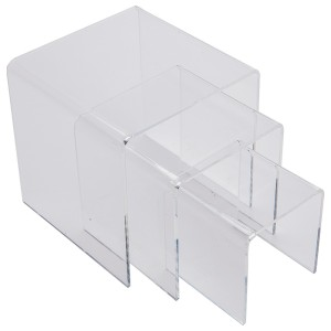 Acrylic Riser Set of 3