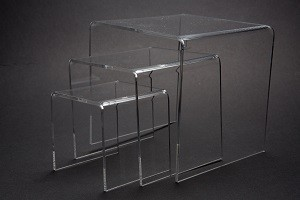 Acrylic Riser Set of 3 4