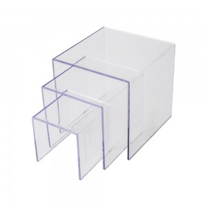 Thick Acrylic Economy Riser Set of 3