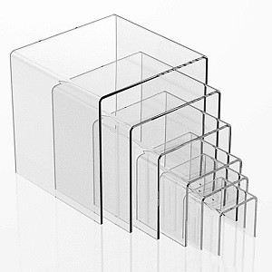 Acrylic Riser Set Of 6 2