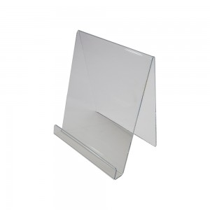 Clear Acrylic Easel With Lip 10 1/2""