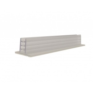 """Card Holder With Adhesive 6"""" x 1"""" x 7/8"""""""