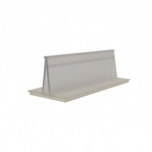 """Card Holder With Adhesive 3"""" x 7/8"""" x 1"""""""