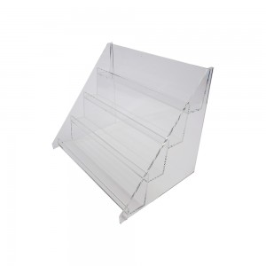 4 Tier Countertop Acrylic Shelf Display
