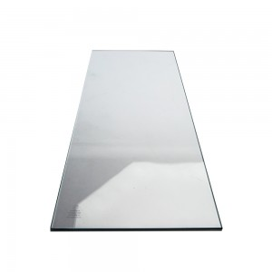 "10"" x 24"" Tempered Glass"
