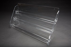 3 Tier Acrylic Counter Top Display e