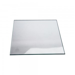 "12"" Tempered Glass Square 2"