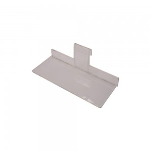 Acrylic Gridwall Shelf 10""