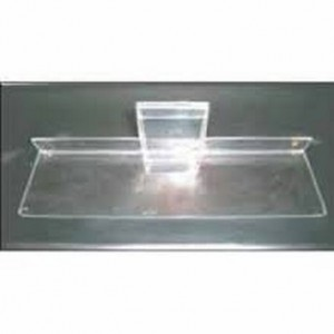 "Acrylic Gridwall Shelf 10"" 3"