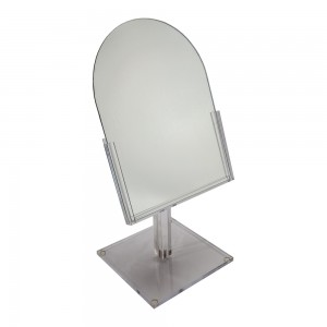 Acrylic Counter Top Dome Mirror 18""