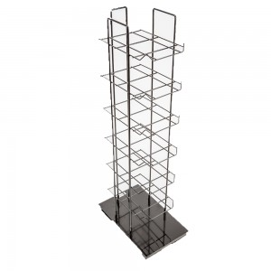 Metal Hat Rack With 6 Shelves