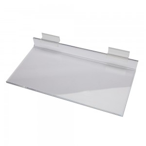 Acrylic Slatwall Shelf 12""