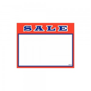 "11"" x 7"" SALE Cards Pack of 100"