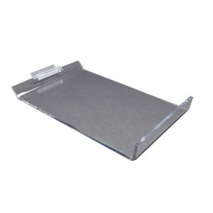 "7"" x 10"" Slanted Slatwall Shoe Shelf"