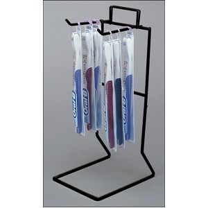 Counter Wire Rack 2 Peg Black