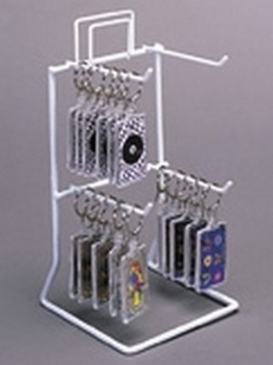 Counter Rack with 4 Pegs.