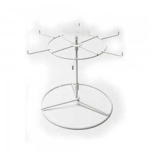 White 6 Peg Counter Spinner