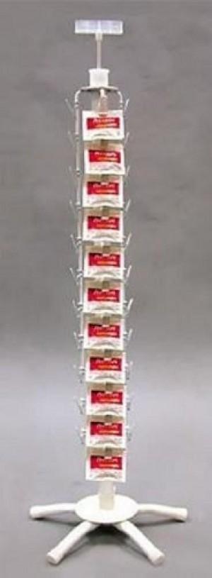 "White Metal Clip Rack 32"" 2"