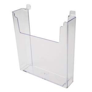 Acrylic Slatwall Stylized Literature Holder 11 3/4""