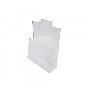 Acrylic Slatwall Holder 6 1/2""