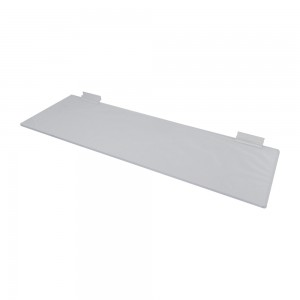 Acrylic Slatwall Shelf 2' x 8""