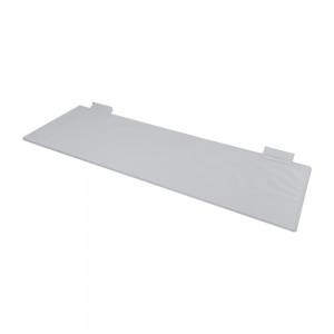 "Acrylic Slatwall Shelf 2' x 8"""